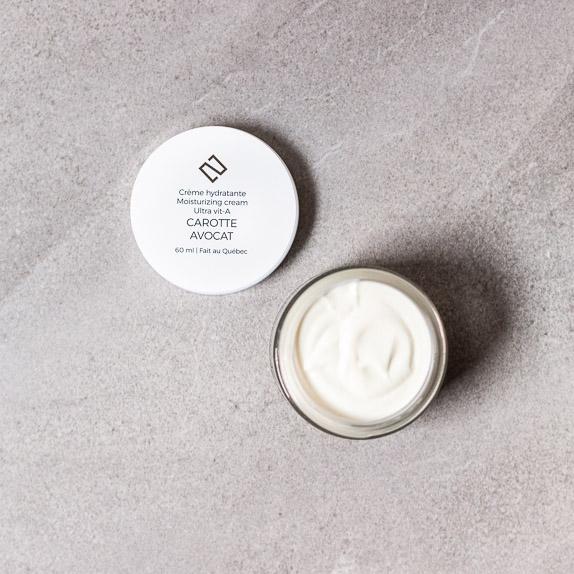 Crème naturelle pour le visage