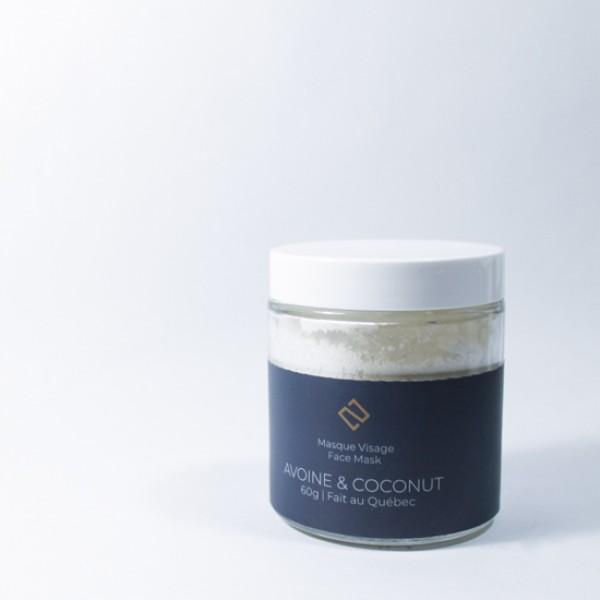 Masque Avoine & Coconut