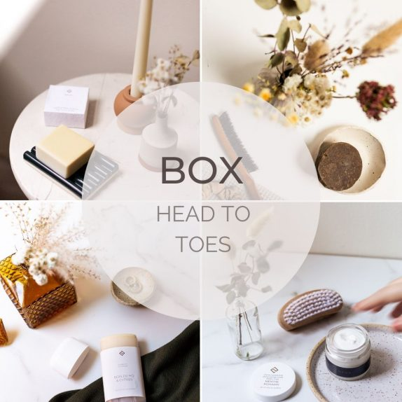 Gift box head to toes