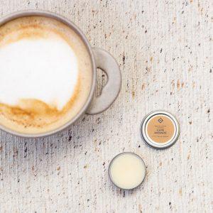 baume à lèvres naturel café amande