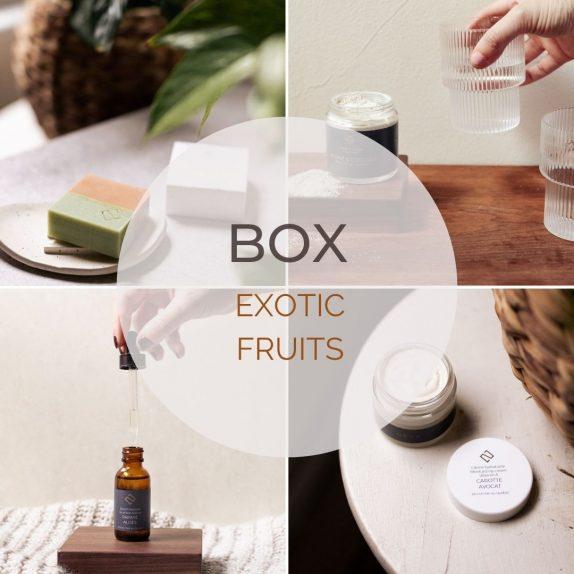 Gift box exotic fruits set