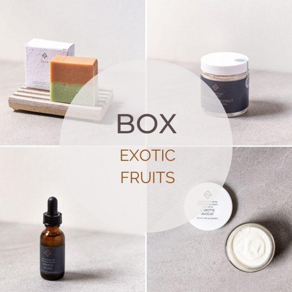Gift box exotic fruits