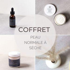 coffret peau normale à sèche DEUX Cosmétiques