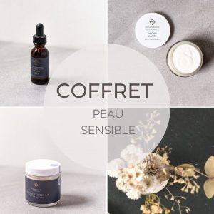 Coffret soin du visage peau sensible