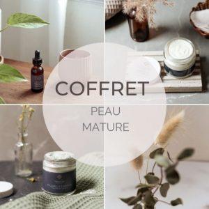 coffret peau mature soin du visage